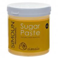 Ceara naturala de zahar pentru epilare gel, 1kg, Simoun
