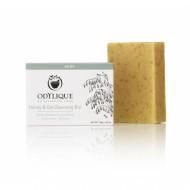 Sapun exfoliant cu miere si ovaz, pt. fata si corp, Odylique by Essential Care