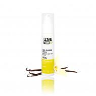 Gel lubrifiant intim, cu aroma de vanilie, Love me Bio, 50 ml