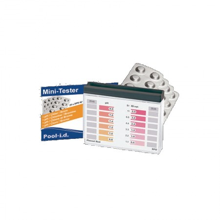 Kit de Testare DPD pH/Cl-Br