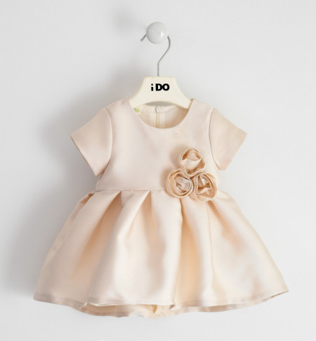 Rochie bej de ocazie pentru bebe fetiță, IDO