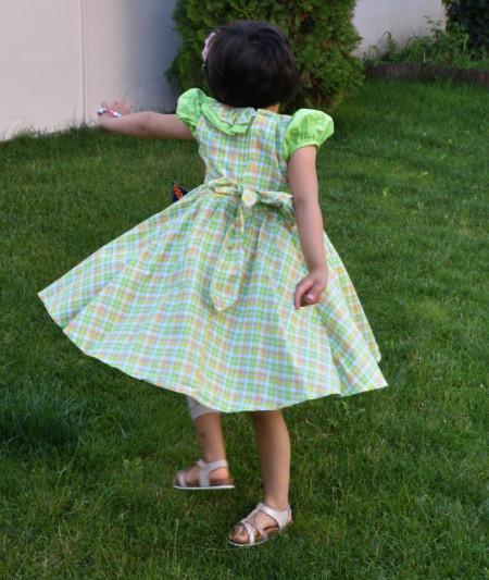 Rochii de fata pentru vara, verde