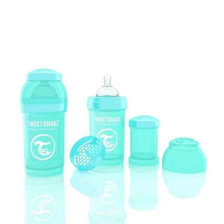 Biberon Twistshake Anti - Colici 180 ml Turcoaz