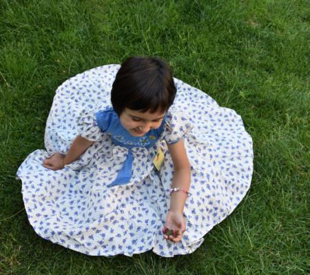 Rochii de vara pentru fete cu imprimeu floral