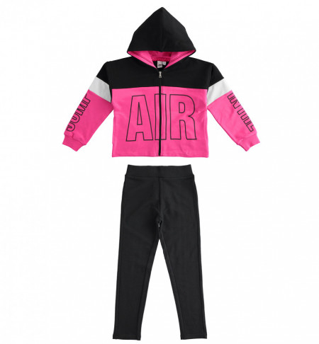 Trening fete , Ido , bumbac , roz, negru, alb