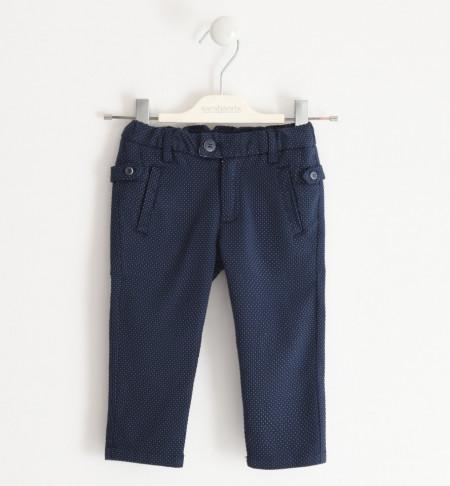 Pantalon in picouri, bleomarin, baieti