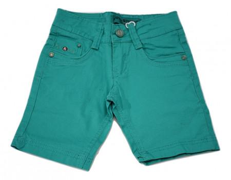 Pantalon scurt, tercot, verde