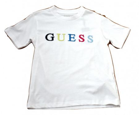 Tricou Guess, logo multicolor