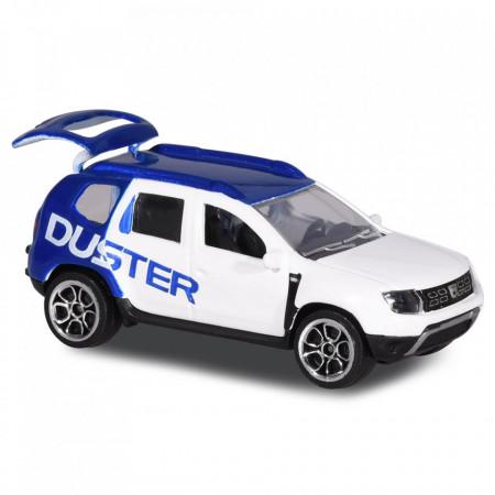 Masina Majorette Dacia Duster alb cu albastru