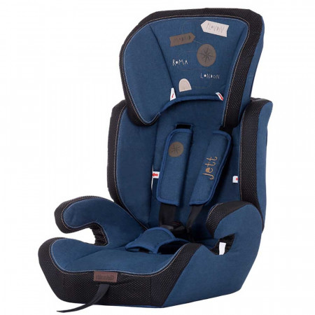 Scaun auto Chipolino Jett 9-36 kg blue denim