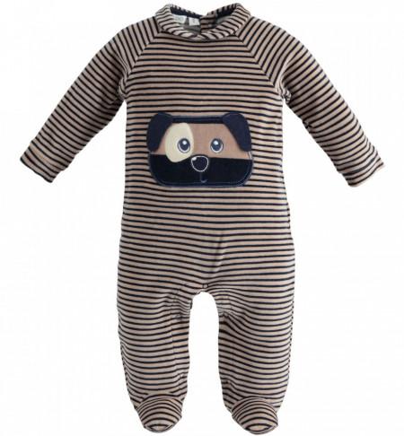 Salopetă bebeluș în dungi, IDO