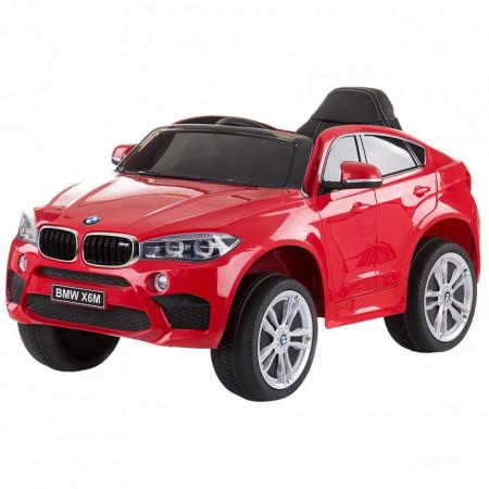 Masinuta electrica Chipolino BMW X6 red cu roti EVA