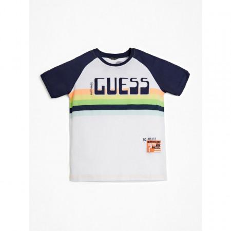 Tricou Guess logo multicolor