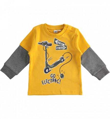 Bluză pentru băieți, cu mânecă lungă, iDO