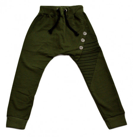 Pantalon de treninglung, verde inchis
