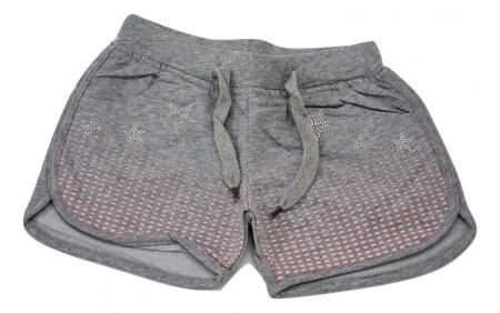 Pantalon scurt, gri