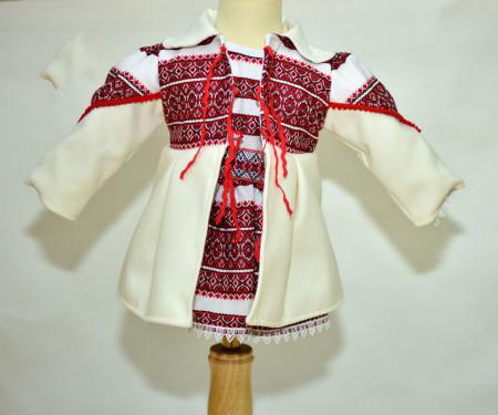 Rochia traditionala cu palton