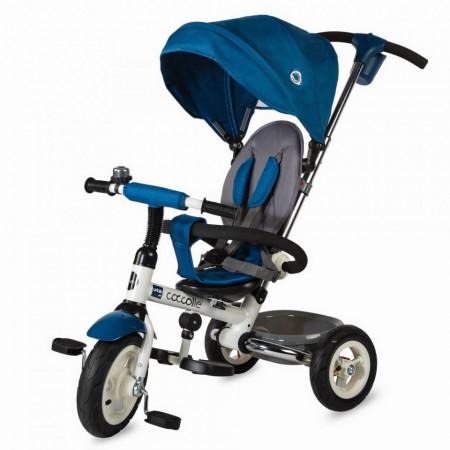 Tricicleta Coccolle Urbio Air Albastru