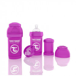 Biberon Twistshake Anti - Colici 180 ml Violet