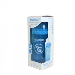Biberon Twistshake Anti - Colici 260 ml Roz