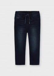 Blue Jeans tip jogger cușnur în talie pentru băiat, Mayoral