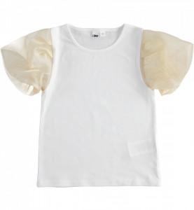 Bluza eleganta cu maneca scurta pentru adolescente IDO