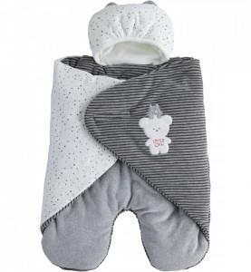 Combinezon paturica pentru bebe nou nascut