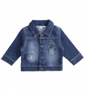 Geacă bebe băiat Blue Jeans din bumbac, iDO