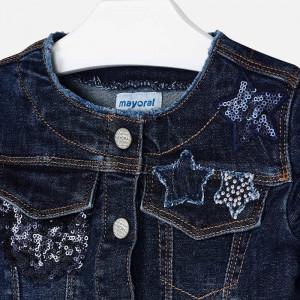 Geacă blue jeans de fată, Mayoral
