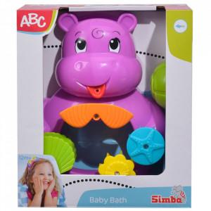 Jucarie de baie Simba ABC Hipopotam
