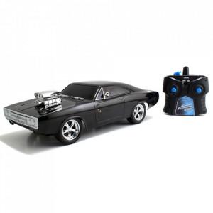 Masina Jada Toys Fast and Furious Dodge Charger 1970 1:24 cu telecomanda