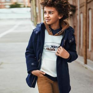Palton bleumarin de băiat, Mayoral