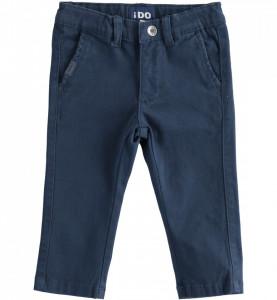 Pantalon elegant IDO de baiat bleumarin