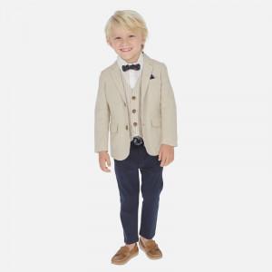 Pantalon lung din bumbac pentru băiat, Mayoral