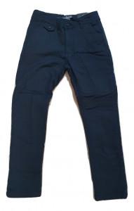 Pantaloni de baieti matlasati bleumarin