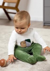Pijama cu cățeluș pentru bebe băiat, Mayoral
