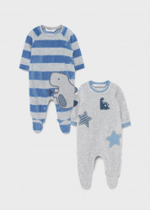 Pijama cu dinozaur, pentru nou-născut băiat, Mayoral