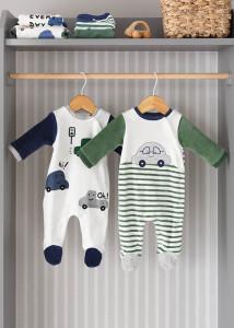 Pijama cu mașinuță pentru bebe băiat, Mayoral