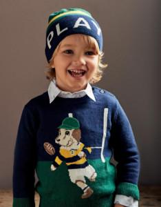 Pulovar baiat IDO tricotat
