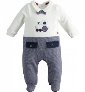 Salopeta bebe nou nascut baiat IDO