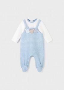 Salopetă pufoasă pentru nou-născut băiat, Mayoral