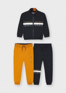 Trening cu 3 piese, hanorac și doi pantaloni, pentru băiat, Mayoral