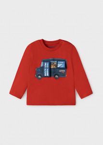 Tricou cu mașinuță pentru bebe băiat, Mayoral