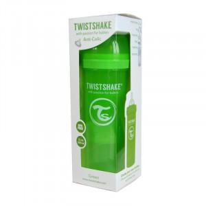 Biberon Twistshake Anti - Colici 330 ml Roz