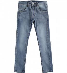 Blue jeans din bmbac pentru băieți, albastru deschis, IDO