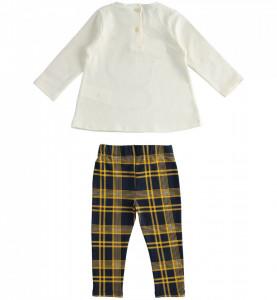 Costum de fetita IDO bumbac 2 piese