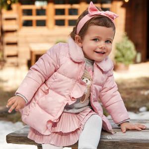 Geaca copii fetita Mayoral roz