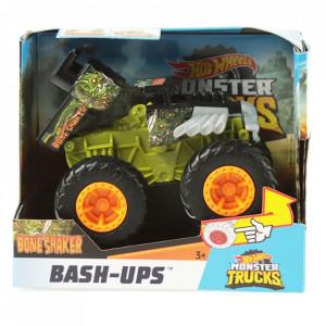 Masina Hot Wheels by Mattel Monster Trucks Bone Shaker