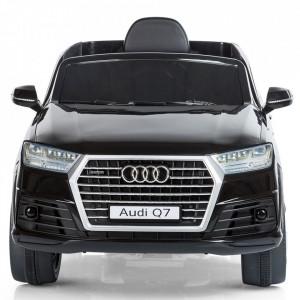 Masinuta electrica Chipolino SUV Audi Q7 black cu roti EVA