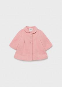 Palton elegant pentru nou-născut fată, Mayoral